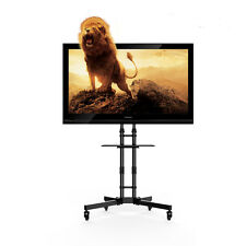 TV Cart LED LCD Mobile Stand Mount for Samsung LG etc 32 37 40 46 47 50 55 60 65