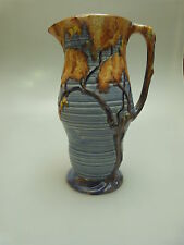 CARLTON WARE ART DECO KRUG MIT RELIEF BRITISH PITCHER OR JUG