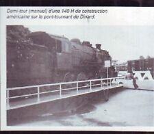 1991  --  DINARD  DEMI TOUR D UNE LOCO VAPEUR EN GARE  U755