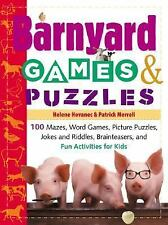 Barnyard Games & Puzzles: 100 Mazes, Word Games, Picture Puzzles, Jokes &amp