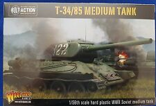 Warlord games bolt action 28mm scale Russian T34/85