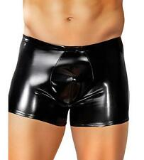 MALE POWER RUBBER POUCH BRIEF BOXER SEXY EXTRA LARGE BLACK MEN'S UNDERWEAR