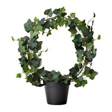 New Ikea Fejka Artificial Potted Plant, Ivy, 4 ¾