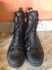 "BLACK 8"" Tactical BOOTS Side Zip Military SWAT Army Marine Corps EMT Police USMC"