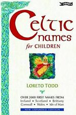 Celtic Names for Children,GOOD Book