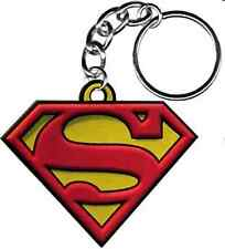 46050 Superman Man Of Steel Classic S Shield Key Chain Ring Fob Keychain Keyring