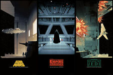 Star Wars Saga Alternative Movie Poster Regular Set by Matt Ferguson /2550