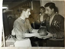 photo press football    World Cup 1958  Batteux et Kopa      263