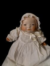 Antique German bisque Bye Lo baby signed & stamped doll Grace S Putnam