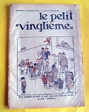 TINTIN HERGE PETIT VINGTIEME 1931 NO 46 BE