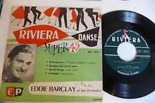 EDDIE BARCLAY ET SON ORCHESTRE 45T RIVIERA MOULIN ROUGE LIMELIGHT O' CANGACEIRO