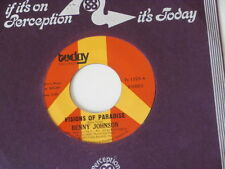 BENNY JOHNSON ~ VISIONS OF PARADISE / STOP ME~ SOUL 45 (UNPLAYED STORE STOCK)