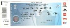 Billet  / Place  Olympique de Marseille - OM vs Nantes - 2007 ( 059 )