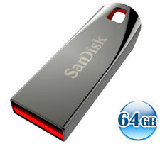SANDISK CRUZER FORCE 64GB 64G USB Flash Thumb Pen Key Metal Drive Memory Stick