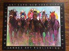 Nancy Noel 1983 Art Expo Poster NYC