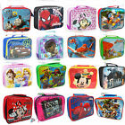 INSULATED LUNCH PACK BAG KIDS BOYS GIRLS SCHOOL FOOD PICNIC BOX