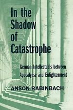 Weimar and Now German Cultural Criticism Ser.: In the Shadow of Catastrophe :...
