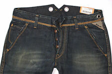 NEU - Original REPLAY - 33/34 -  Green Top Denim - MV976A - DOC -  W33 L34  18c