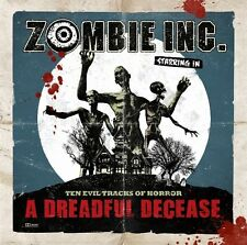 Zombie Inc. - Dreadful Decease CD 2011 Pungent Stench Massacre Records
