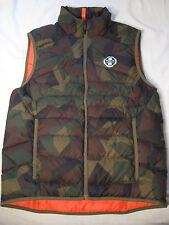 Polo Sport Ralph Lauren Down Packable Vest NWT $198 M Camo Camouflage