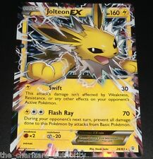 Jolteon EX 28/83 XY Generations Ultra Rare Holo NEAR MINT Pokemon Card