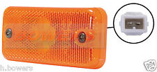 VIGNAL 24V AMBER SIDE MARKER LAMP/LIGHT RENAULT PREMIUM KERAX VOLVO BUS COACH