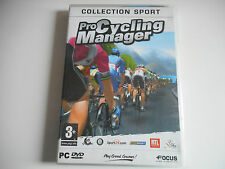 JEU PC DVD-ROM - PRO CYCLING MANAGER ( SANS NOTICE )
