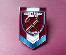 WEST HAM CLARET BLUE PENNANT BADGE