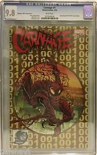 "CARNAGE # 1 CGC 9.8. PHANTOM ""300"" VARIANT! MARVEL NOW!"