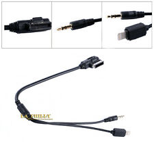 AMI MDI MMI MP3 3.5 mm AUX Cable Adapter Interface For Audi VW iPod iPhone 5 6S