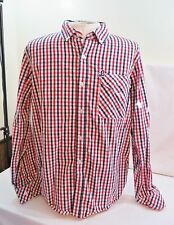 LIFTED RESEARCH GROUP LRG MENS SHIRT LS CHECK COTTON