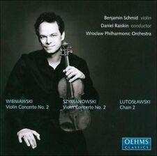 Polish Violin Concerti: Wieniawski (#2)/Szymanowsk, New Music