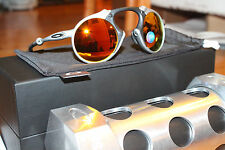 New Authentic OAKLEY MADMAN 46/150 X RAW/Fire Irid Polarized OO6019-01 Limited