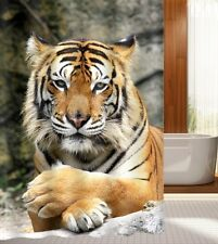 Beautiful Tiger Shower Curtain Bathroom Decor