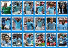 Manchester City FA Cup winners 2011 football trading cards