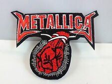METALLICA METAL HARDCORE ROCK FIST IRON ON PATCH