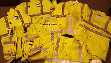 Ex Police Hi Vis Jackets, Workmen, Dog Walking, Cycling, Job Lot Qty 10