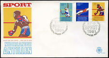 Netherlands Antilles 1981 Sports Fund FDC First Day Cover #C26715