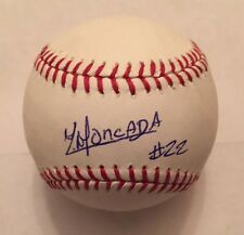 BOSTON RED SOX CUBA YOAN MONCADA signed OMLB Baseball PSA DNA #Y67173 Auto