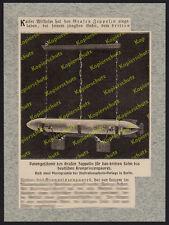 Graf Zeppelin Patengeschenk Prinz Hubertus von Preußen Potsdam Luftschiff 1910