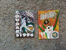 Two (2) Kane County Cougars Schedules - 1996, 1997