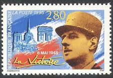 France 1995 WWII/General de Gaulle/Military/Buildings/War/People 1v (n31342)