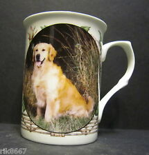 Golden Retriever Dog By Mellor Fine Bone China Mug Cup Beaker