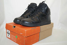 NIKE DUNK high Premium 2003 Gr.42,5 UK.8 Leder schwarz 307735 001