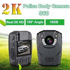 16GB Infrared Night Vision S60 2K Police Body Worn Video Camera Security Camera