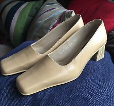 Simona Luca Leather Shoes Brand New Size 4 / 37 .