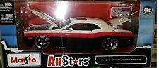 2008 Dodge Challenger  Die-cast Car 1:24 Maisto All Stars 7.5 inches RBW