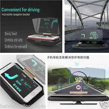 Car Non-slip Phone Bracket GPS Navigation Holder HUD Head Up Projection Display