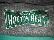 Reverend Horton Heat Logo Gris Knit Roll Vintage Beanie Cap Hat Psychobilly Rock