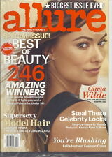 Olivia Wilde Allure Magazine Oct 2013 Best of Beauty Supersexy Model Hair SEALED